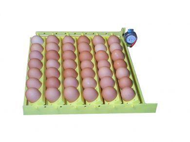 Automatic Egg Turner with 6 Universal Egg Racks